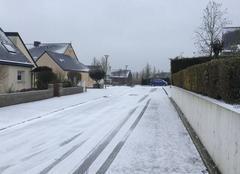 Neige Bais 35680 La neige rue de broceliande