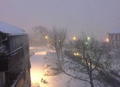 Neige Hendaye 64700 Tempête de neige