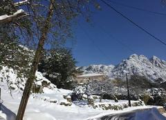 Neige Conca 20135 Conca sous la neige