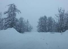 Neige Enchastrayes 04400 Tempête de neige