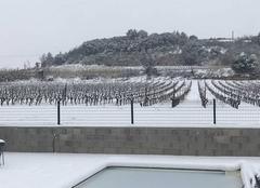 Neige Nebian 34800 Sous la neige