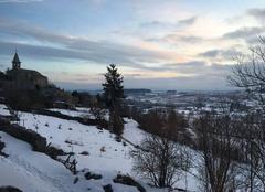 Neige Fay-sur-Lignon 43430 Sunrise