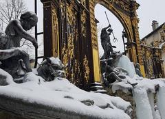 Neige Nancy 54100 Place Stanislas