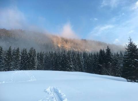 Fin de chute de neige Mijoux