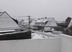 Neige Calais 62100 Calais sous la neige