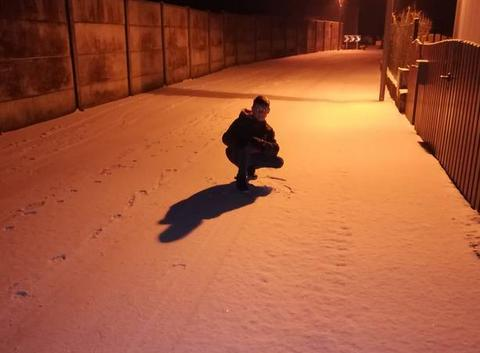 Soirée neige