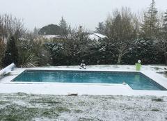 Neige Saint-Cricq 32430 Tombe la neige