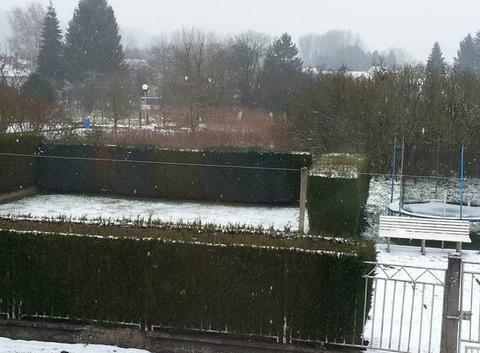 Merten sous la neige