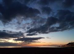 Ciel Le Havre 76600 Coucher de soleil