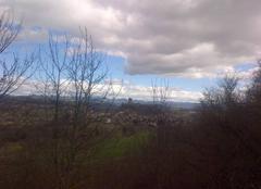 Insolite Polignac 43000 Une chaîne de nuages sur la chaîne des sucs du Velay