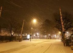 Neige Aix-les-Bains 73100 Aix Les Bains sous la neige