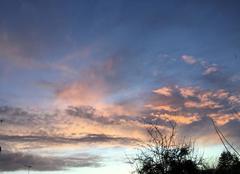 Ciel Conde-sur-Huisne 61110 Après l?orage