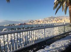 Neige Ajaccio 20000 Ajaccio sous la neige 27 février 2018