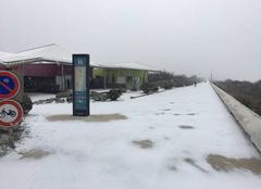 Neige Sète 34200 Neige à sete