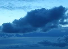 Nuages Saint-Jean-Cap-Ferrat 06230 50 nuances de bleu