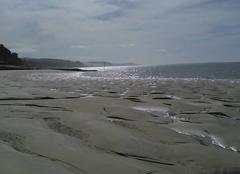 Mer Arcachon 33120 Vagues sur la plage