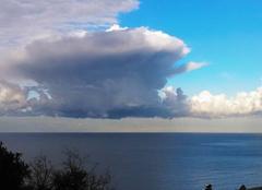 Nuages Nonza 20217 Superbe nuage .cote ouest du Cap Corse.