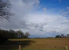 Nuages Rioux 17460 Arrivé du front orageux
