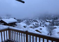 Neige Le Grand-Bornand 74450 Début de journée aux outalays chinaillon