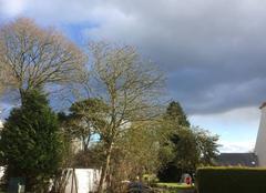 Ciel Plouha 22580 Un peu de bleu dans un ciel bien chargé