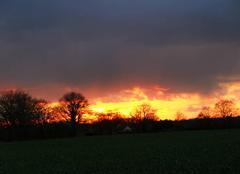 Ciel Argent-sur-Sauldre 18410 Ciel en feu