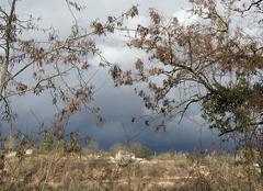 Orage Puylaroque 82240 Sombre au Nord Est