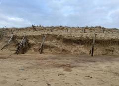 Climat Bretignolles-sur-Mer 85470 Grandes marées : la mer avance, inexorablement...
