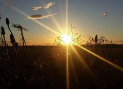 Ciel Beauvoisin 30640 Magnifique coucher de soleil