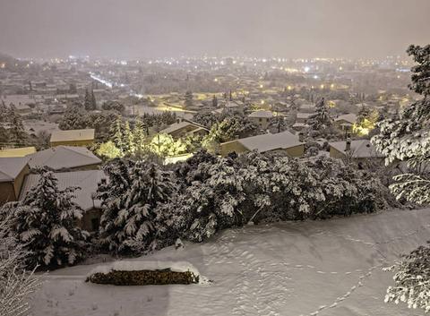 nuit d'hiver  Février 2018