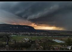 Orage Saint-Sorlin-en-Bugey 01150 Ambiances orageuses de l'ain