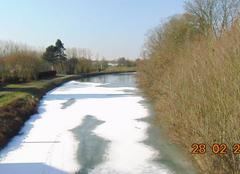 Froid Seneffe Gel du vieux canal