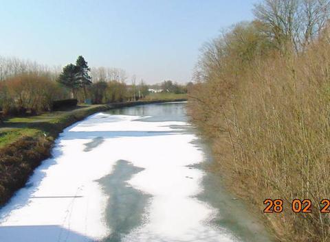 Gel du vieux canal