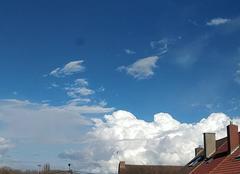 Ciel Wingles 62410 Bourgeonnement nuageux