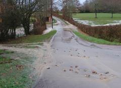 Orage Saint-Martin-du-Lac 71110 Inondations
