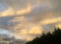 Ciel Clermont-Ferrand 63100 Le ciel est beau