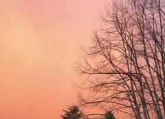 Ciel Pamiers 09100 Couché de soleil sous l orage