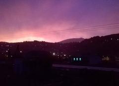 Ciel Le Vigan 30120 Coucher de soleil après l'orage