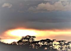 Ciel Nogaret 31540 Après l'orage.rc en ciel d'orage.