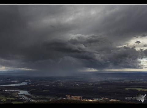 Ambiances orageuses de l'ain