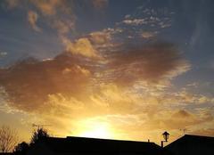 Ciel Vendrennes 85250 Couché de soleil