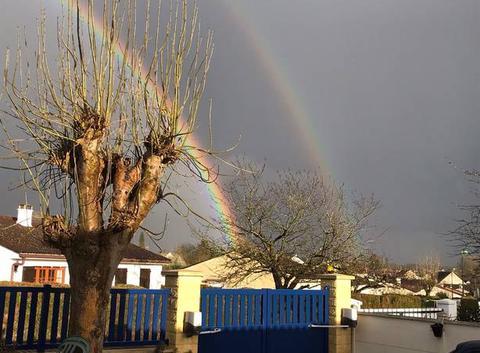 Double arc en ciel