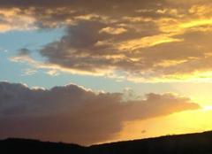 Ciel Courdimanche-sur-Essonne 91720 Coucher de soleil