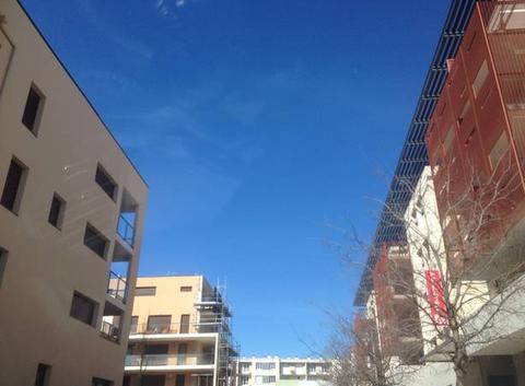 Ciel bleu à Montelimar