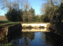 Insolite Saint-Fort-sur-Gironde 17240 Pont endormi