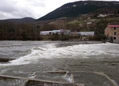 Catastrophe Millau 12100 Tarn en Crue