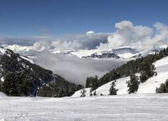 Nuages Macot-la-Plagne 73210 La montagne