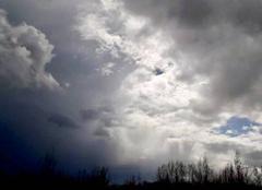 Ciel Camps-sur-l'Isle 33660 Ciel avant les fortes pluies