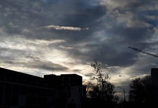 Nuages Nantes 44000 Arrivée des nuages