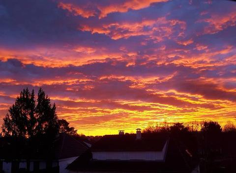 Ciel le matin