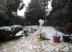Froid Rueil-Malmaison 92500 La neige